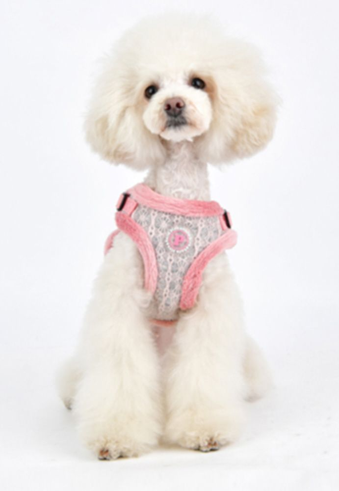 Pinkaholic Margaux Comfort Dog Harness Pink Priceco Pets Dog
