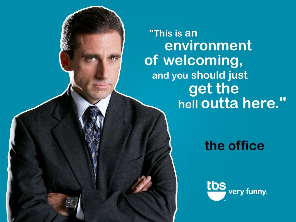 Funny Life Quotes From The Office The Office Wallpapers Image