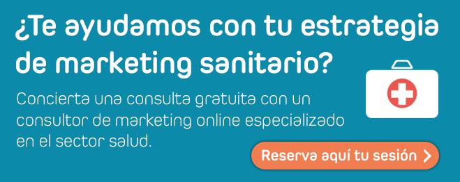 ¿Te ayudamos con tu estrategia de marketing sanitario?