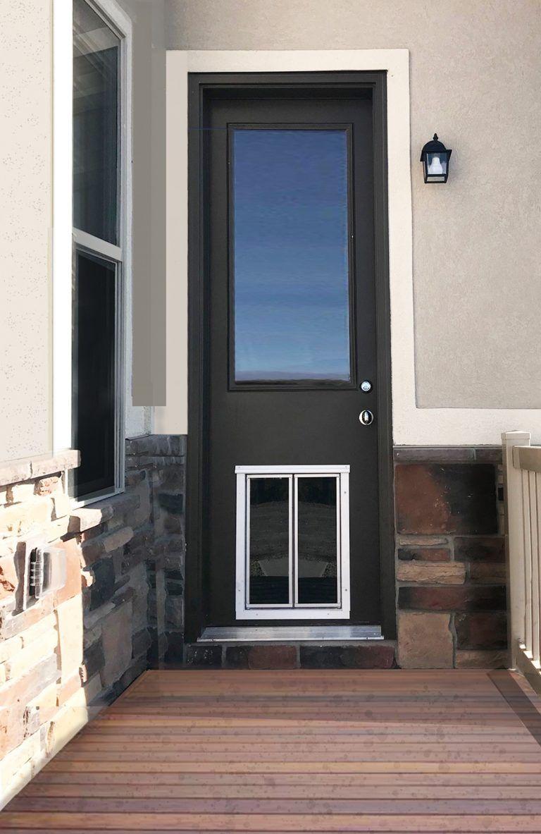French glass door dog doors plexidor dog doors glass