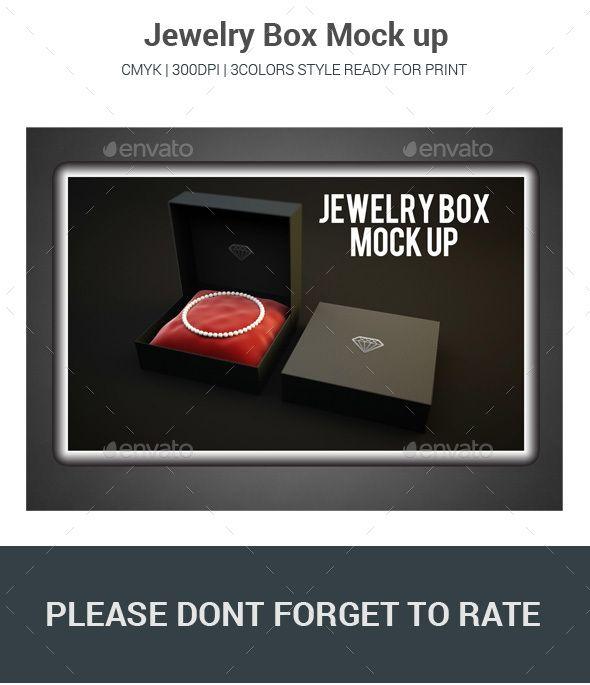 Download Jewelry Box Mock Up Graphic Design Templates Mockup Design Logo Mockup