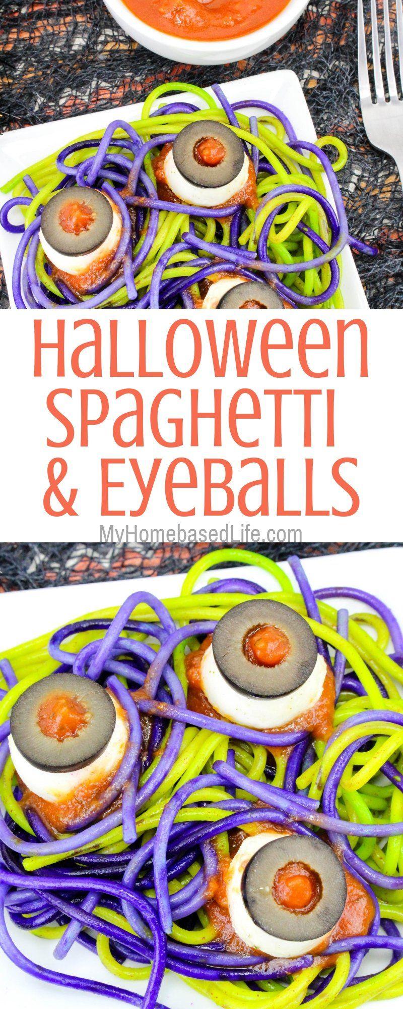 Spaghetti and Eyeballs Recipe   My Home Based Life