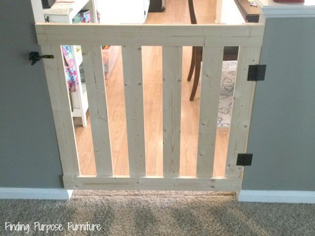 How To Build A 10 Minute Baby Pet Gate In 2018 For The Home