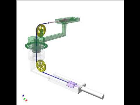 Cable Drive For Changing Direction Of Linear Motion 3