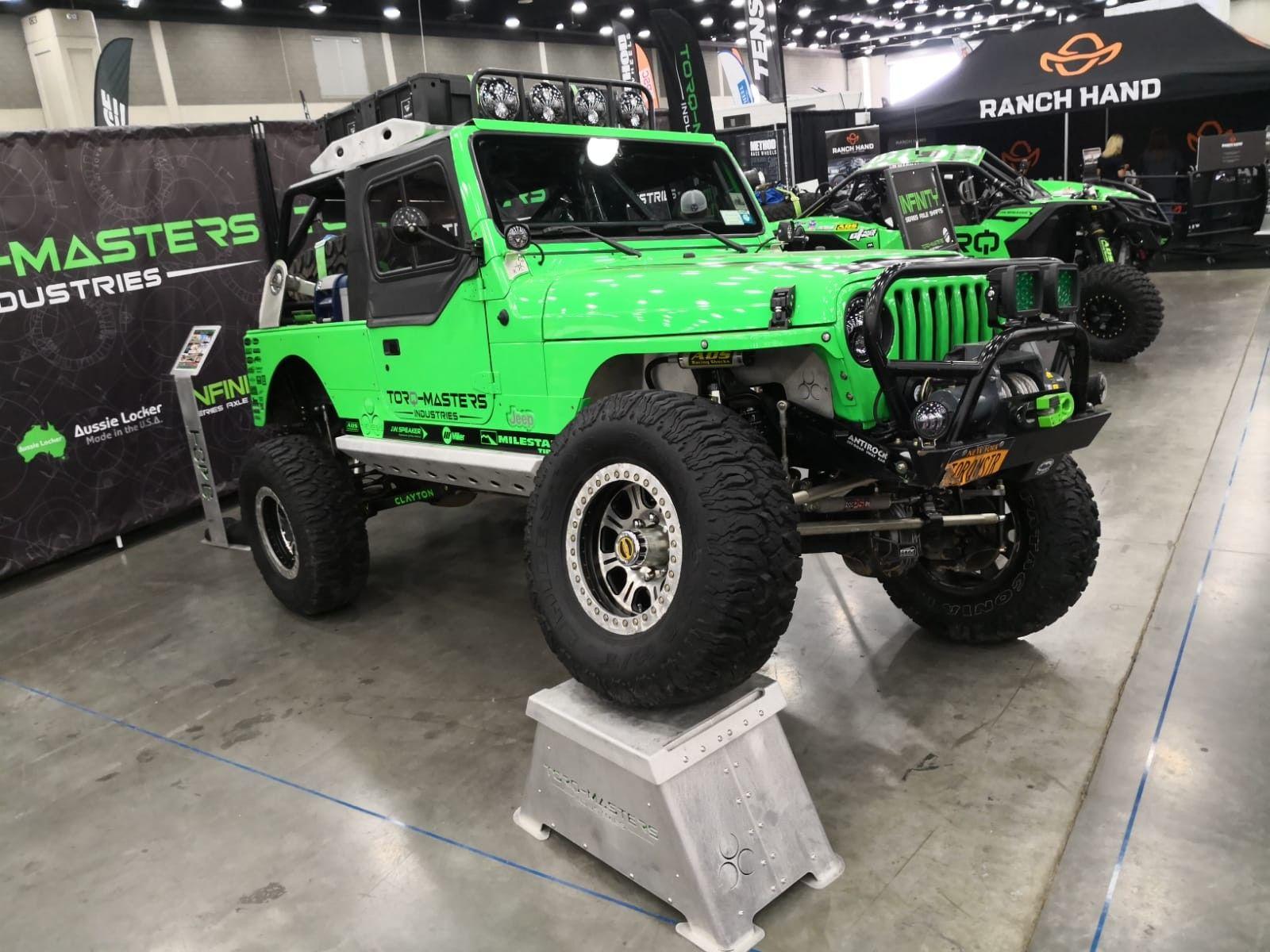 Green Jeep Jeep Wrangler Tj Jeep Jeep Wrangler