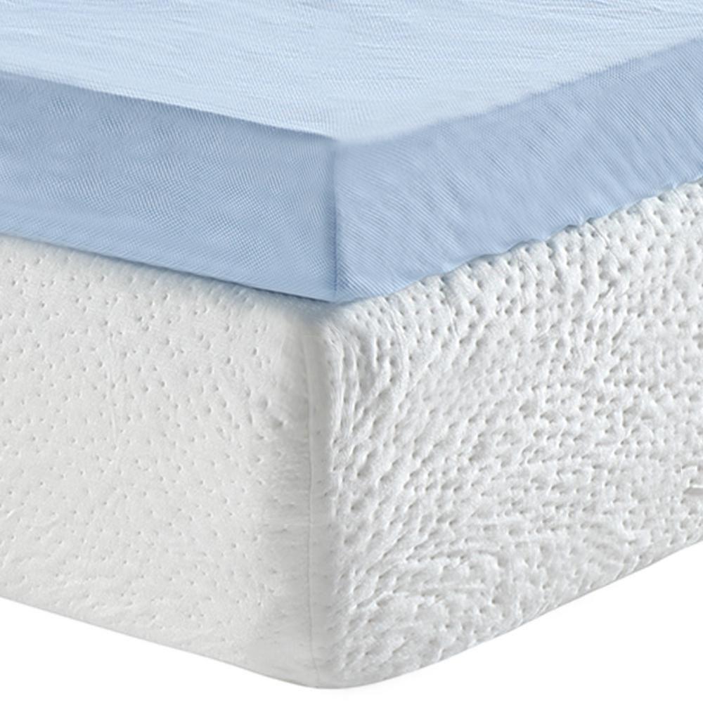 Sleep Options Classic 3 In Full Gel Memory Foam Mattress Topper 255003 4030 The Home Depot Gel Memory Foam Mattress Memory Foam Mattress Memory Foam Mattress Topper Sleep options memory foam mattress