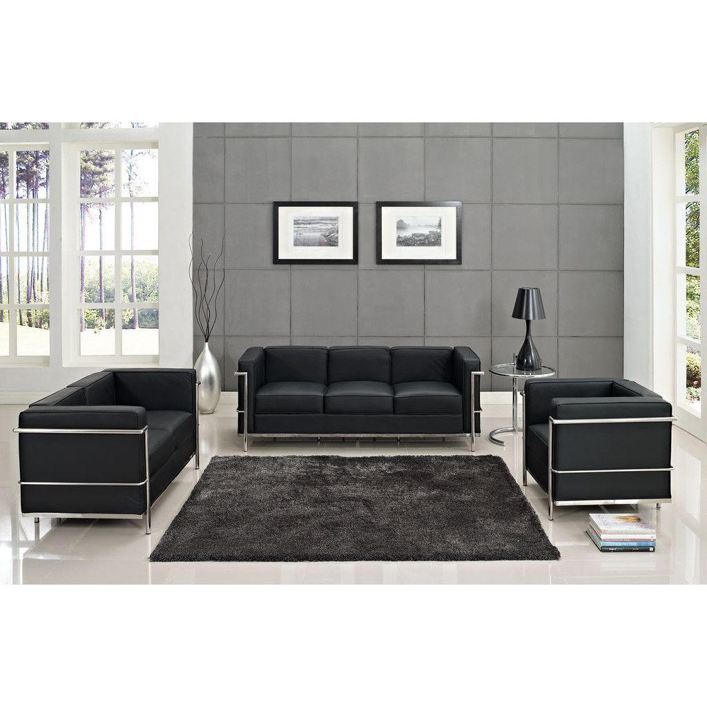Best Modway Charles Petite 4 Piece Sofa Set – Modish Store 400 x 300
