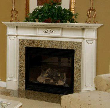 Glass Tile Fireplace Surrounds Limestone marble or cast stone