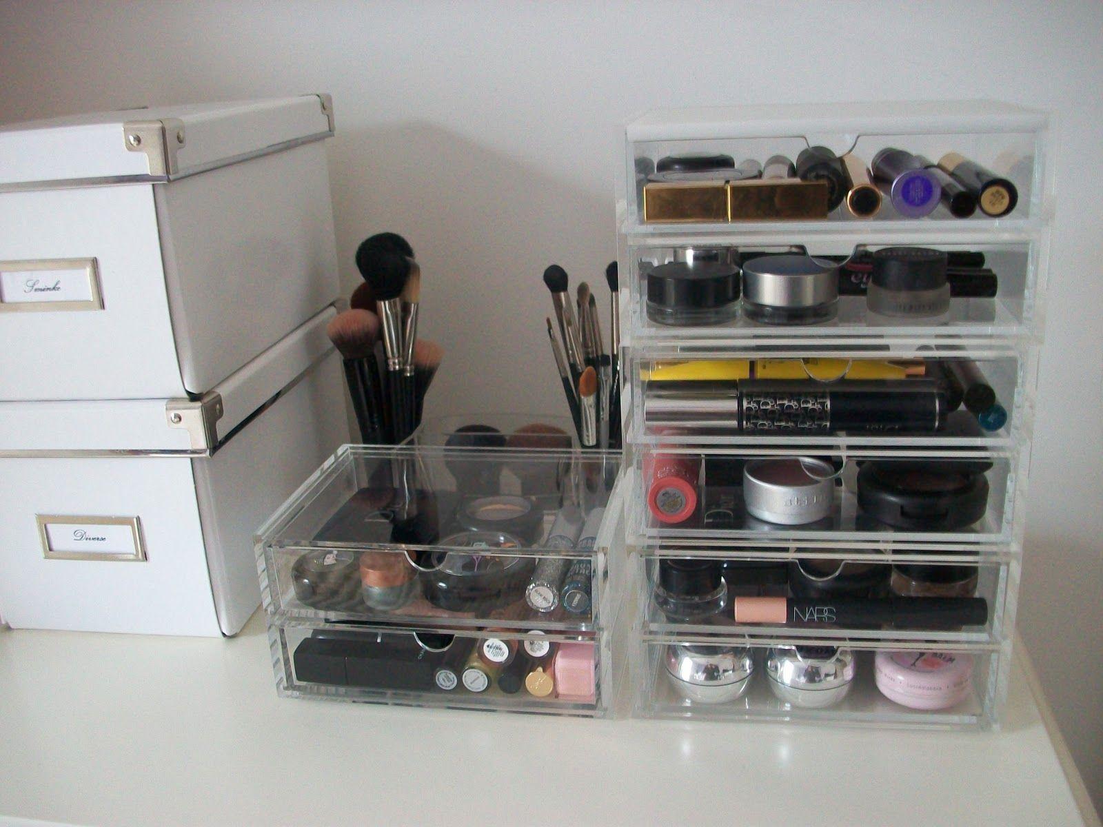 Makeup Kitten ? Updated makeup storage using my new MUJI - Cosmetics storage & Makeup Kitten ?: Updated makeup storage using my new MUJI ...