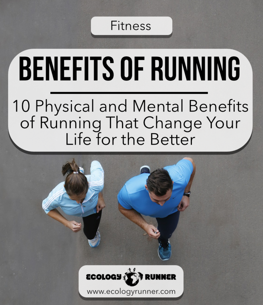 What Are the Physical and Mental Benefits of Running? So, if you're ready to become stronger, fitter, and healthier overall, running is the perfect answer. There are many great physical and mental benefits of running and if you're looking for motivation, remind yourself of all the ways you're helping your body and mind! Read more at ecologyrunner.com