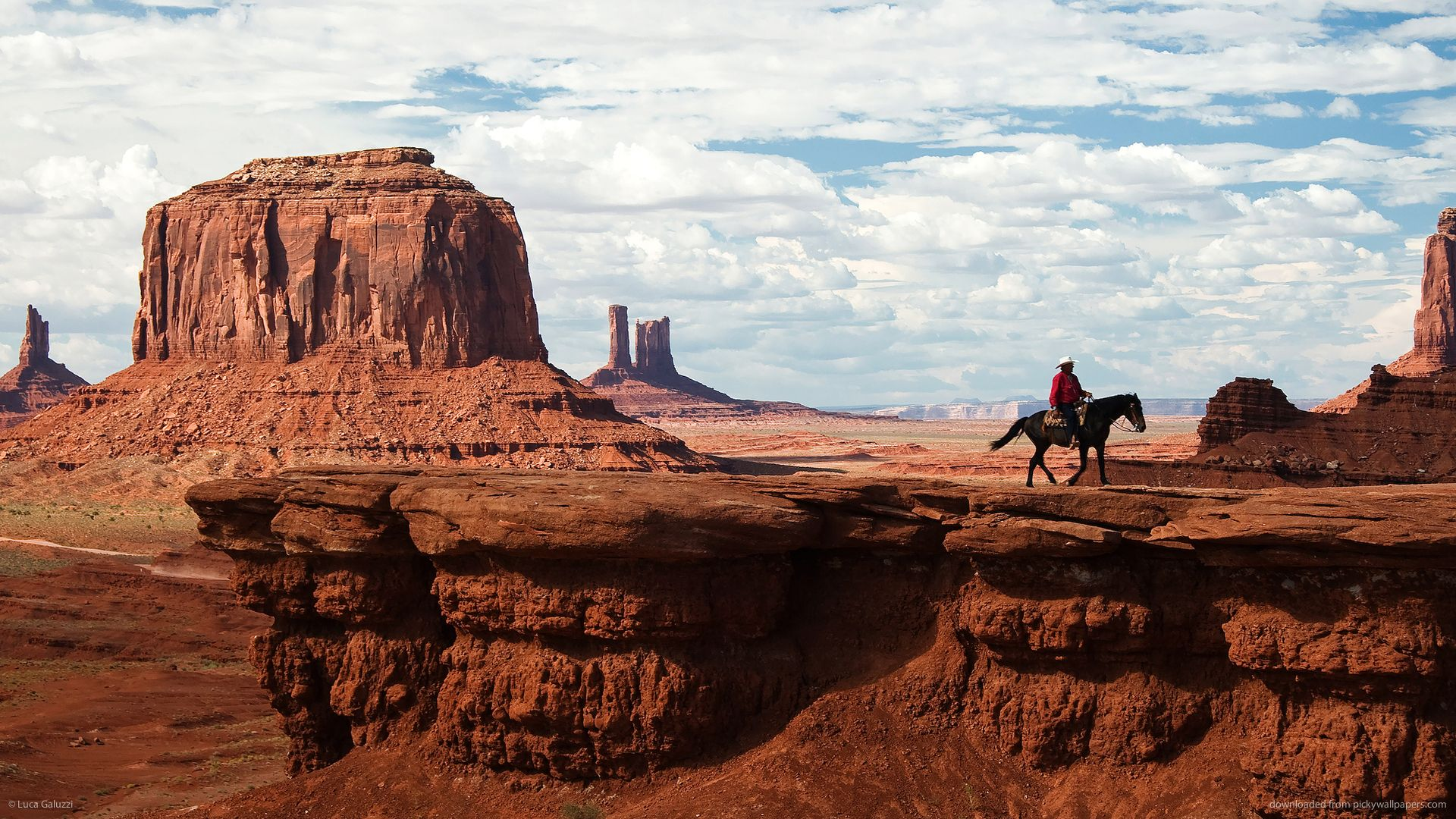 John Fords Point Monument Valley Utah Wallpaper With Images