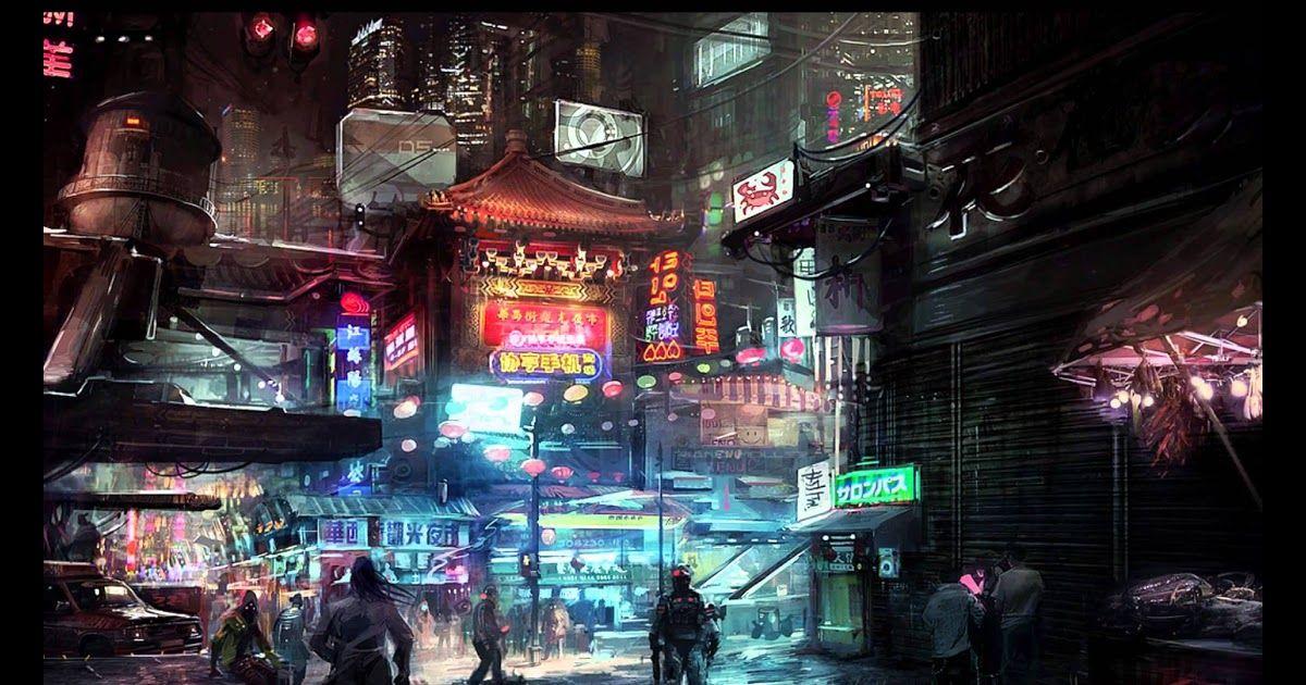 Anime Wallpaper For Youtube Cyberpunk City Cyberpunk Anime Sci