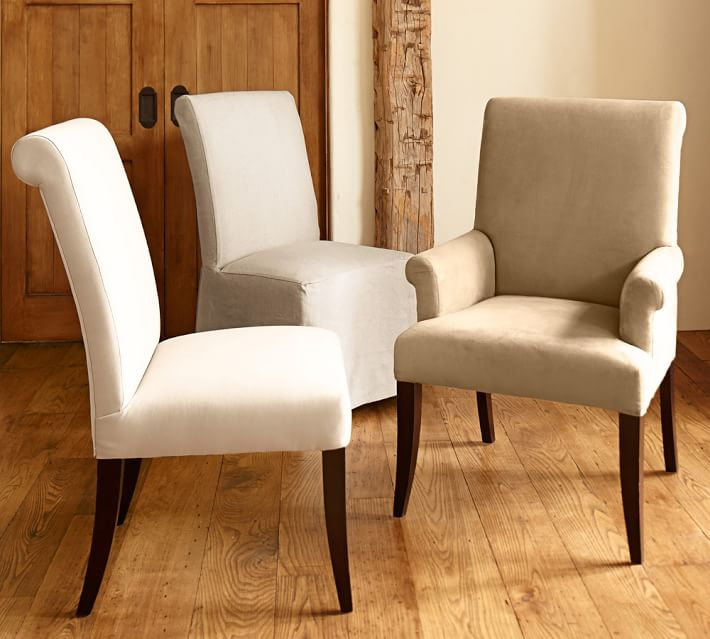 Pb Comfort Roll Upholstered Dining Chair Armchair Upholstered Dining Chairs Side Chairs Dining Upholstered Dining Side Chair Comfortable dining chairs with arms