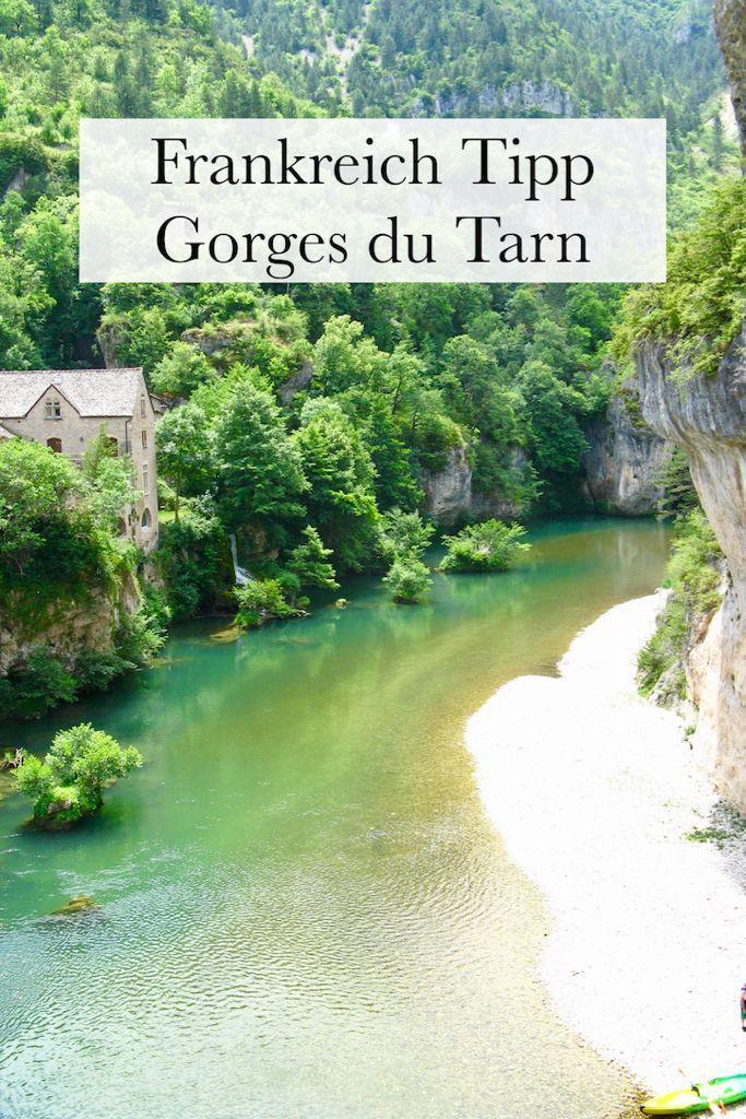 Photo of Tarn gorge, Gorges du Tarn: camping, hiking