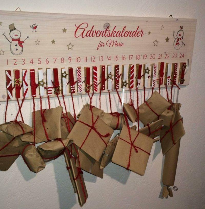 Adventskalender Selber Gestalten Kleine Geschenke Calendrier De Lu0027avent,  Deco Noel, Bricolage,