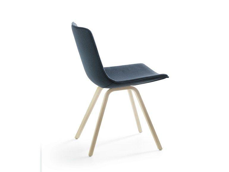 Upholstered Wooden Chair Comet Sport Collection By Lammhults Mobel Design Gunilla Allard Stuhl Polstern Holz Design