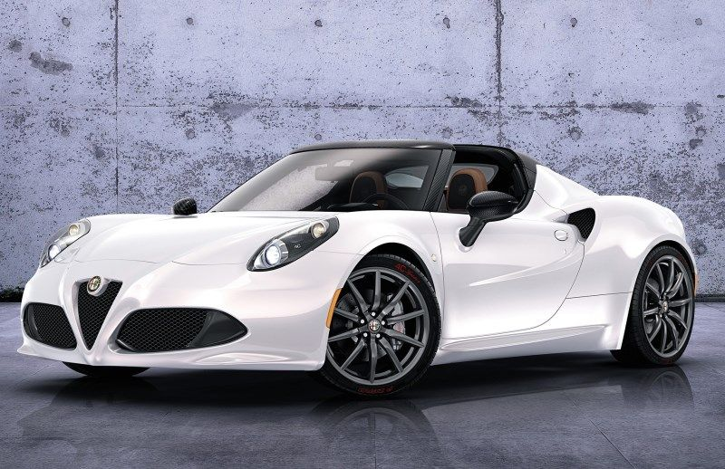 Alfa Romeo 4c Spider A Direct Descendant Of A Gorgeous Lineage