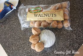 COUNTRY GIRL HOME : How to make a walnut ball