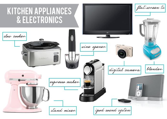 Top Wedding Registry Items Kitchen Appliances Electronics Via Realomahawedding Top Wedding Registry Items Fun Wedding Invitations Affordable Wedding Bands