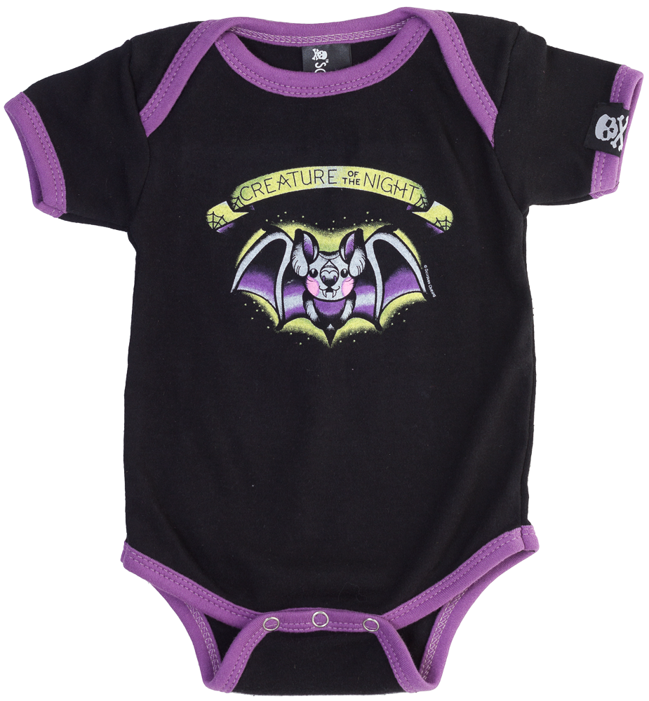 7b6d1fa783782 Creature of the Night Onesie. Creature of the Night Onesie Beserk Clothing, Goth  Kids, Punk ...