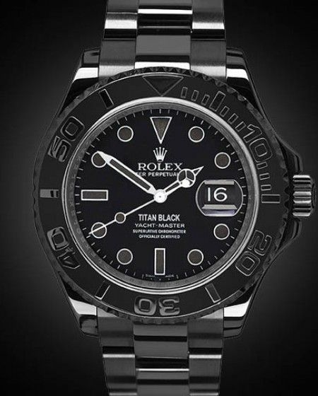 d7a2c12f949 Black PVD Rolex Yacht-Master Admiral