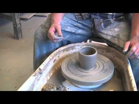 Pottery How To Make A Squared Cup Ceramics Pottery Making Pottery Videos