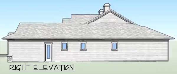 Elevation - Right