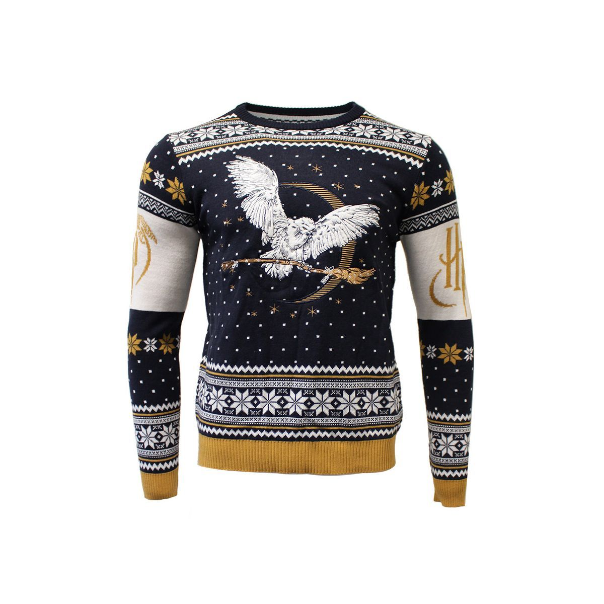 Harry Potter Hedwig Knitted Christmas Jumper Sweater in