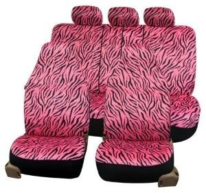 Strange Zebra Prints Car Seat Covers Airbag Ready And Split Bench Machost Co Dining Chair Design Ideas Machostcouk