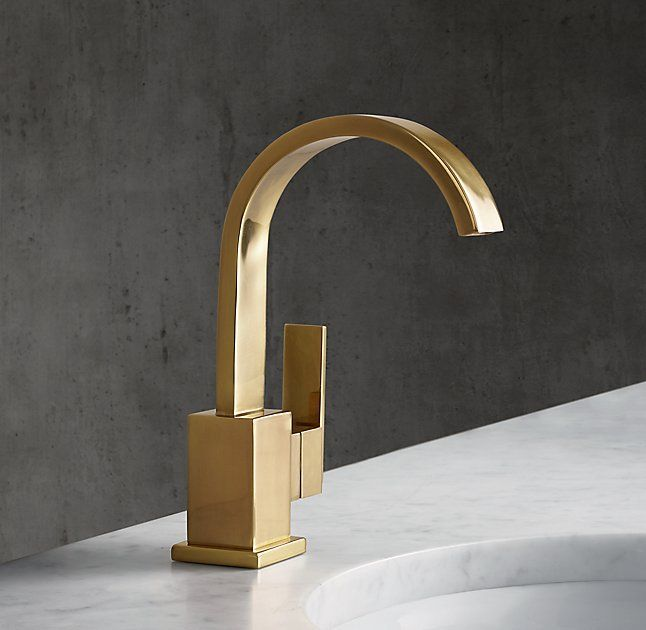 Modern Single-Hole Faucet restoration hardware #BathroomFaucets ...