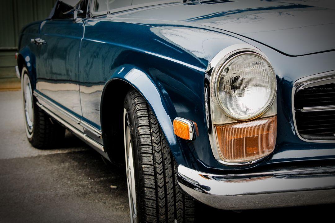 1970 MercedesBenz 280SL W113 Pagoda Restoration
