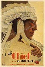 1930s Santa Fe Railroad Vintage Style Travel Poster - 16x24