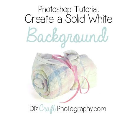 10-minute tutorial on how to make a solid white background in Photoshop.  We mean solid white – 255 255 255 white!  This background's gonna blind people at the beach. ;) If you've…