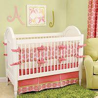 Pink Green Baby Nursery