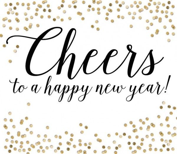 free printable cheers to a happy new year plus a great new years neighbor gift idea