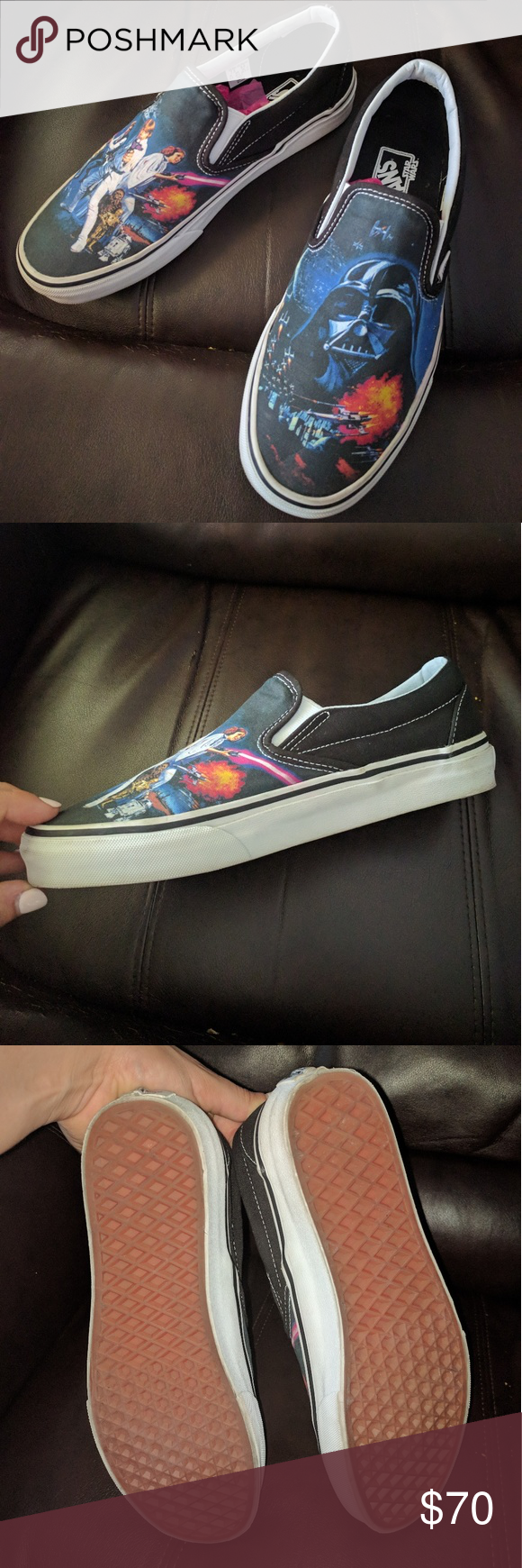 Vans X Star Wars Classic Slip On Shoes A New Hope Lightly worn (3 times) 8d4f5ea7ed