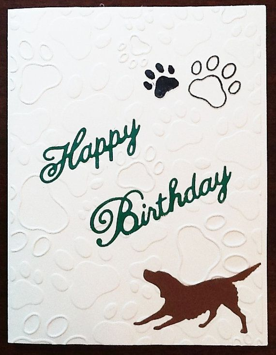 Dog Lover Happy Birthday Card