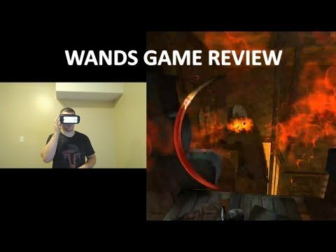 So Much Fun!  Wands Game Review On GearVR - YouTube