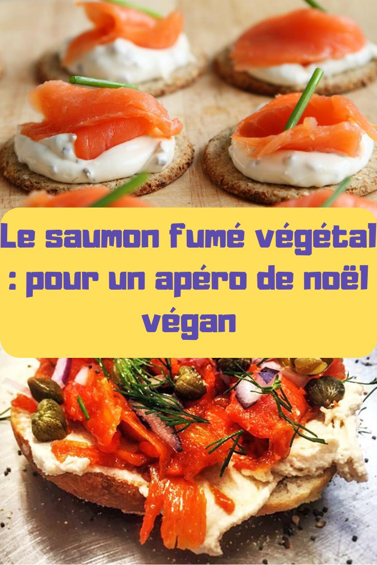 � Vous cherchez des idées de recette vegan pour noël ? Pourquoi pas le saumon fumé végétal ?