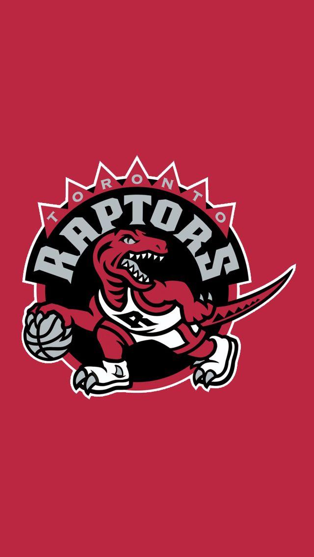 I Made These Raptors Logo Minimalist Phone Background With The Toronto Raptors Raptors Raptors Basketball