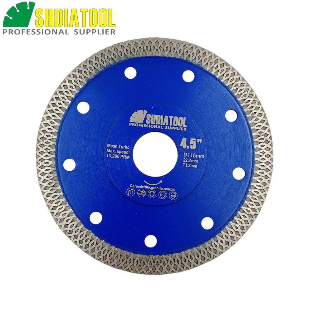 SHDIATOOL 1pc Hot-pressed Sintered Diamond Cutting Disc X