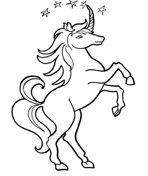 Unicorn Star Coloring Page Unicorn Coloring Pages Coloring Pages Coloring Pages For Kids