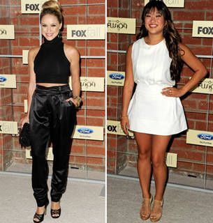 Glee Stars — New And Old — Show Some Skin at FOX's Fall Party! (PHOTOS)