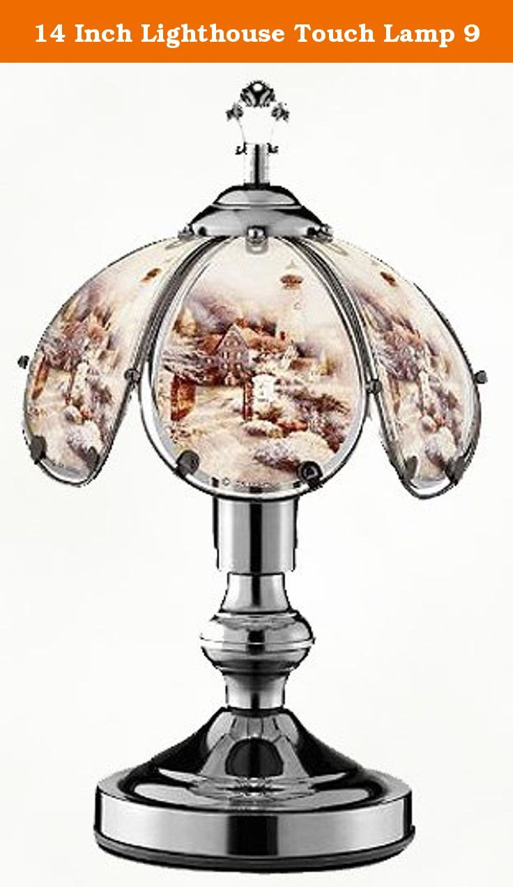 Cottage lighthouse lamp 3 colors - 14 Inch Lighthouse Touch Lamp 9 This Is One Of Our Newest Lighthouse Designs
