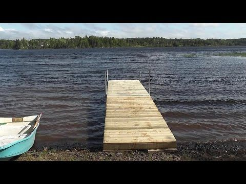 How To Build A Dock Building A Dock To A Lake Can Be An Attractive Additional As Well As A Functional One Once Building A Dock Floating Dock Lakefront Living