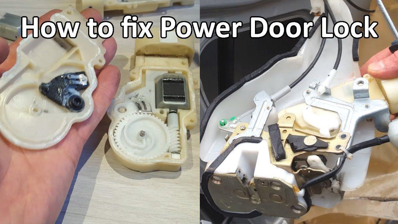 How To Fix Power Door Lock Actuator Toyota Lexus Cheap