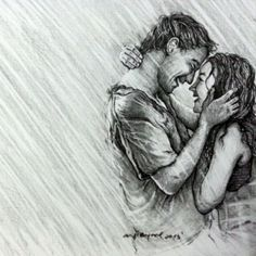 pencil sketches of couples holding hands - Google ... - #couples #Google #Hands #holding #Pencil #rain #sketches