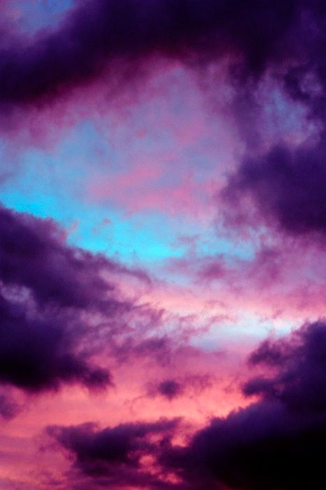 sunset, clouds, sky, photography, color
