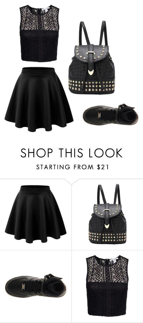 """Tuesday"" by ac319509 on Polyvore featuring LE3NO, NIKE and NLY Trend"