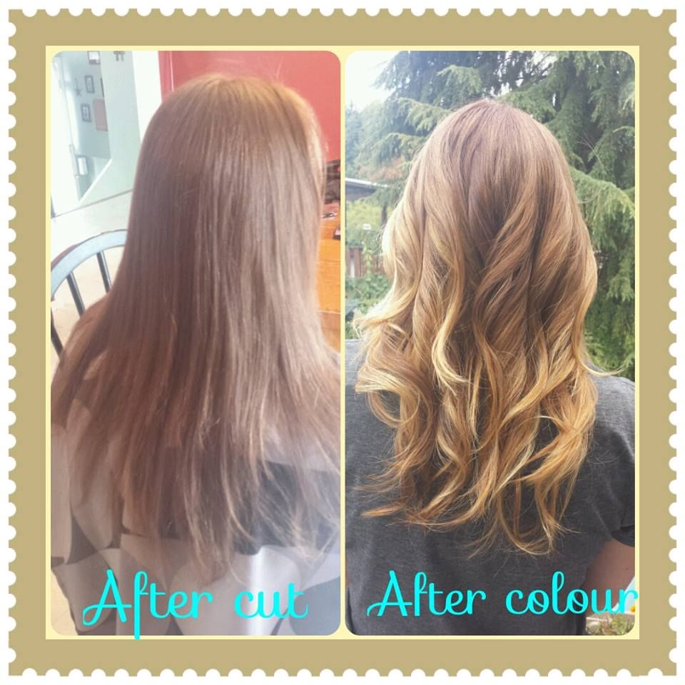 Strawberry Blond Ombre